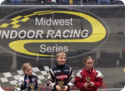 Carson Hocevar 1st Place, Taylor Imus 3rd Place Sr. Honda